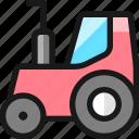 heavy, equipment, tractor