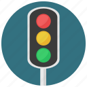 construction, traffic, traffic light, traffic lights icon