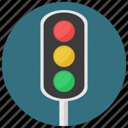 construction, traffic, traffic light, traffic lights icon