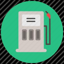 construction, fuel, gas, gas pump, gas station, petrol, petrol station icon