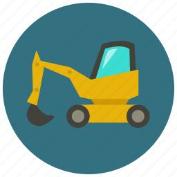 bucket, clamshell, construction, dredger, earthmover, excavator, grab bucket icon