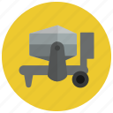 cement, cement mixer, concrete, concrete mixer, construction, mixer, truck icon