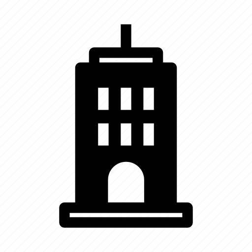 building, hotel, office, real estate, tower icon