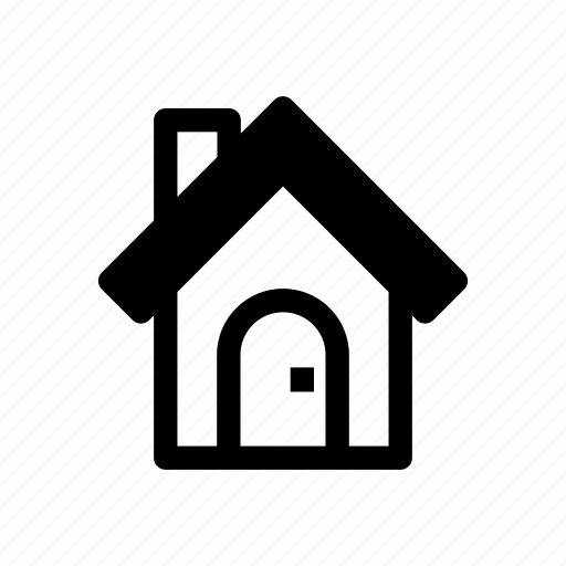 building, estate, home, house, residential icon