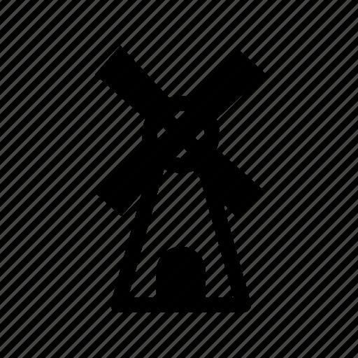 building, dutch, mill, turbine, windmill icon
