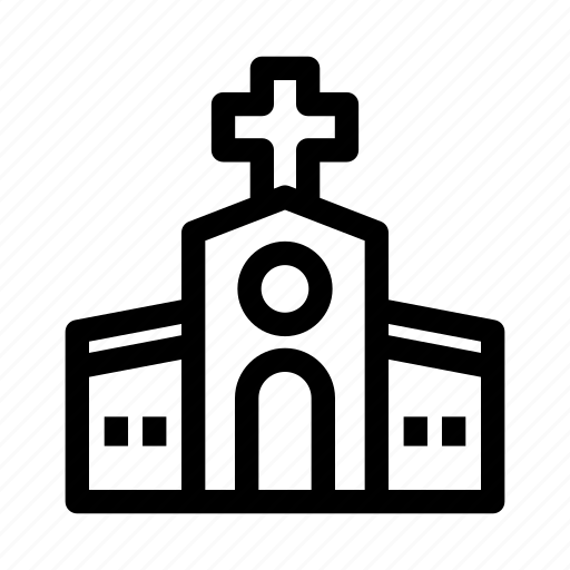 building, christian, church, place, religion icon
