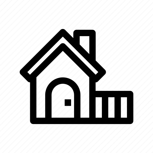 building, farm house, home, house, rural icon
