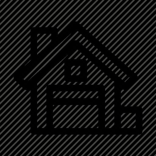 building, cargo, silo, storage, warehouse icon