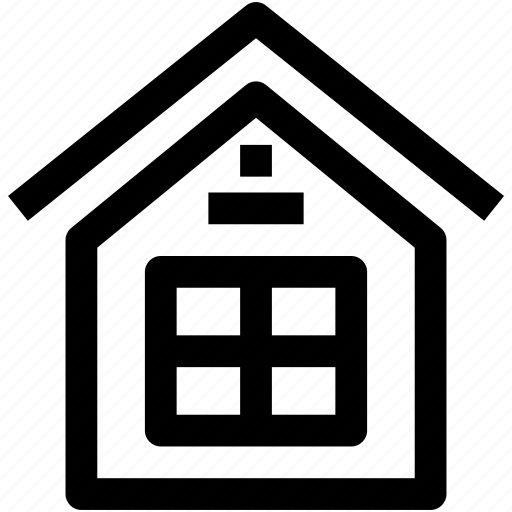 building, estate, home, property, town icon