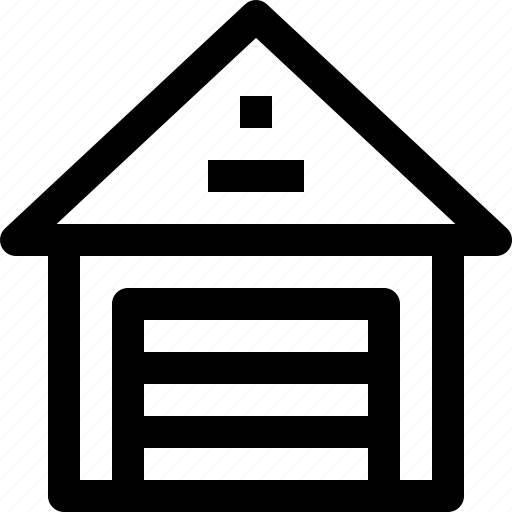 building, estate, property, store, town icon