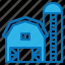 barn, building, crop, farm, farmer