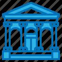 architecture, bank, building, raman