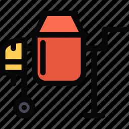 building, concrete, construction, mixer, realtor, repair, tool icon