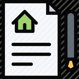 building, construction, contract, realtor, repair, tool icon