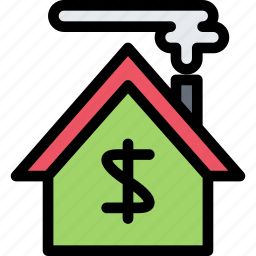 building, construction, house, realtor, repair, sale, tool icon