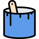 building, construction, paint, realtor, repair, tool icon