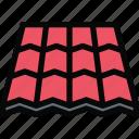building, construction, realtor, repair, roof, tool icon