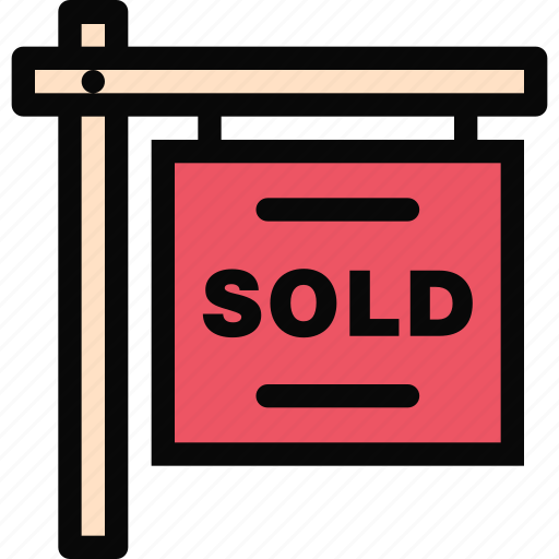 building, construction, realtor, repair, sale, sign, tool icon