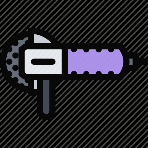 building, construction, realtor, repair, sander, tool icon