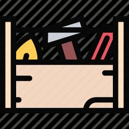 building, construction, realtor, repair, tool, toolbox icon