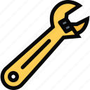 building, construction, realtor, repair, tool, wrench icon
