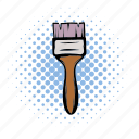brush, comics, construction, paint, paintbrush, painter, tool icon