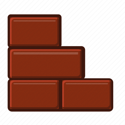 block, concrete, construction, estate, stone, wall icon