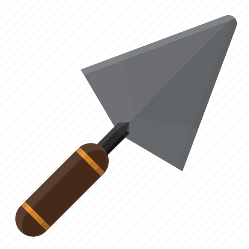 building, construction, design, equipment, shovel, spoon, tool icon