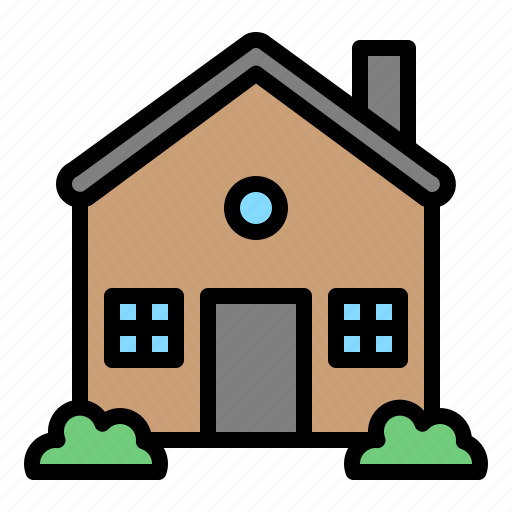 archicture, building, house, realestate, residential icon