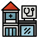 pharmacy, building, clinic, doctor, dentist
