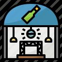 building, disco, floor, party, pub icon