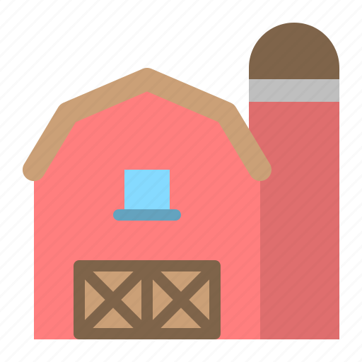 archicture, barn, building, realestate icon