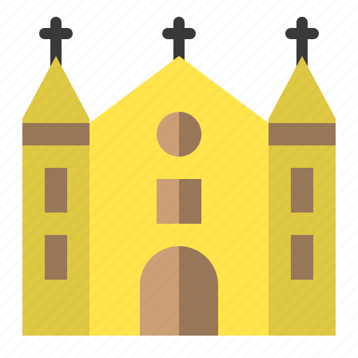 archicture, building, church, realestate icon