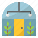 glass, building, greenhouse, plant, house
