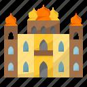 castle, palace, building, king, estate