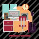 building, composer, interior, workspace, workspace composer icon
