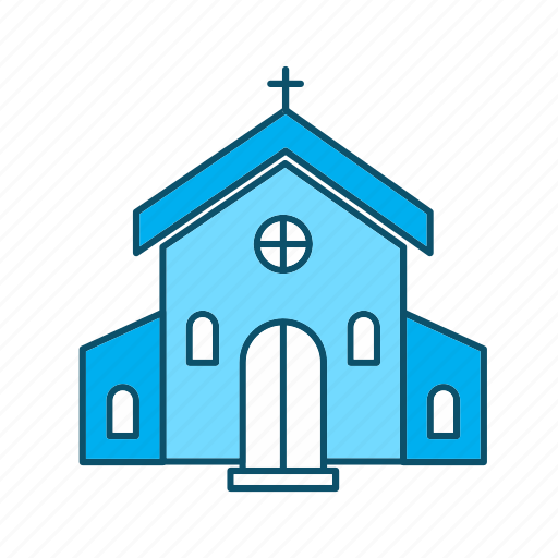 building, catholic, church icon
