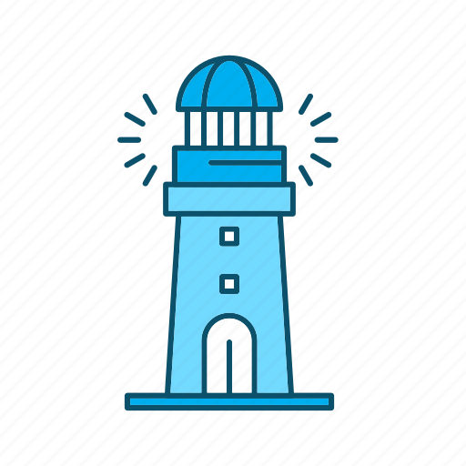 building, house, light, lighthouse icon
