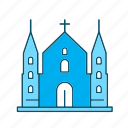 building, cathedral, church