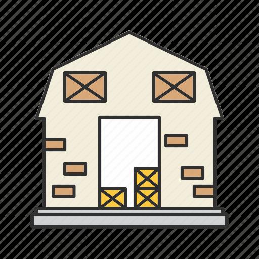 farm, farmhouse, home, house icon