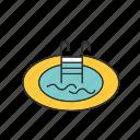 pool, swimming, swimming pool icon