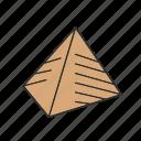 egypt, pyramid, pyramids icon