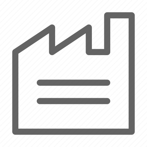 factory, industrial, industry, manufacturing icon