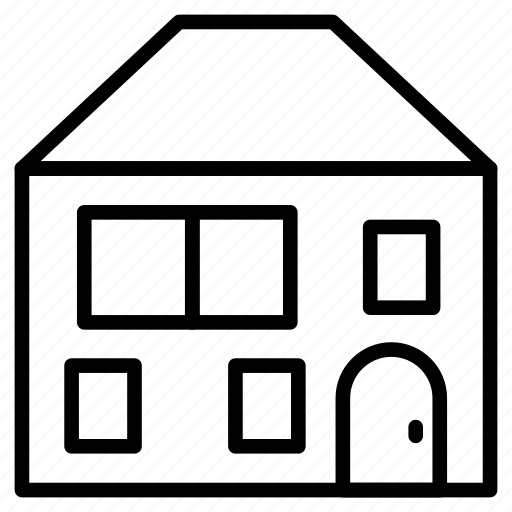 building, home, house, property, realestate icon