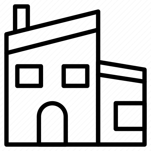 apartment, building, home, house, real icon
