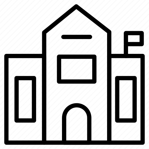 apartment, building, home, hostel, house icon