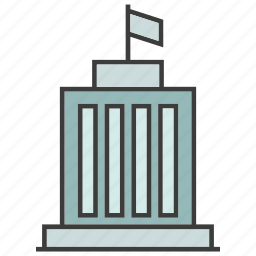 architecture, building, government building, office, real estate, tower icon