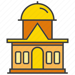 architecture, building, real estate, residential, tower icon