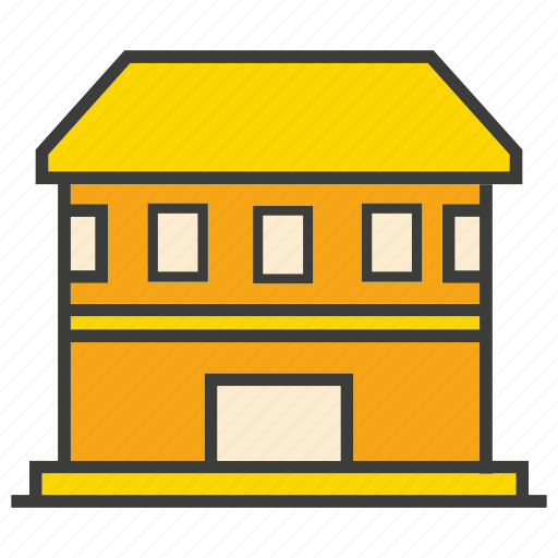 architecture, building, home, house, real estate, residential icon