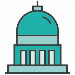 architecture, building, government building, real estate, residential, tower icon